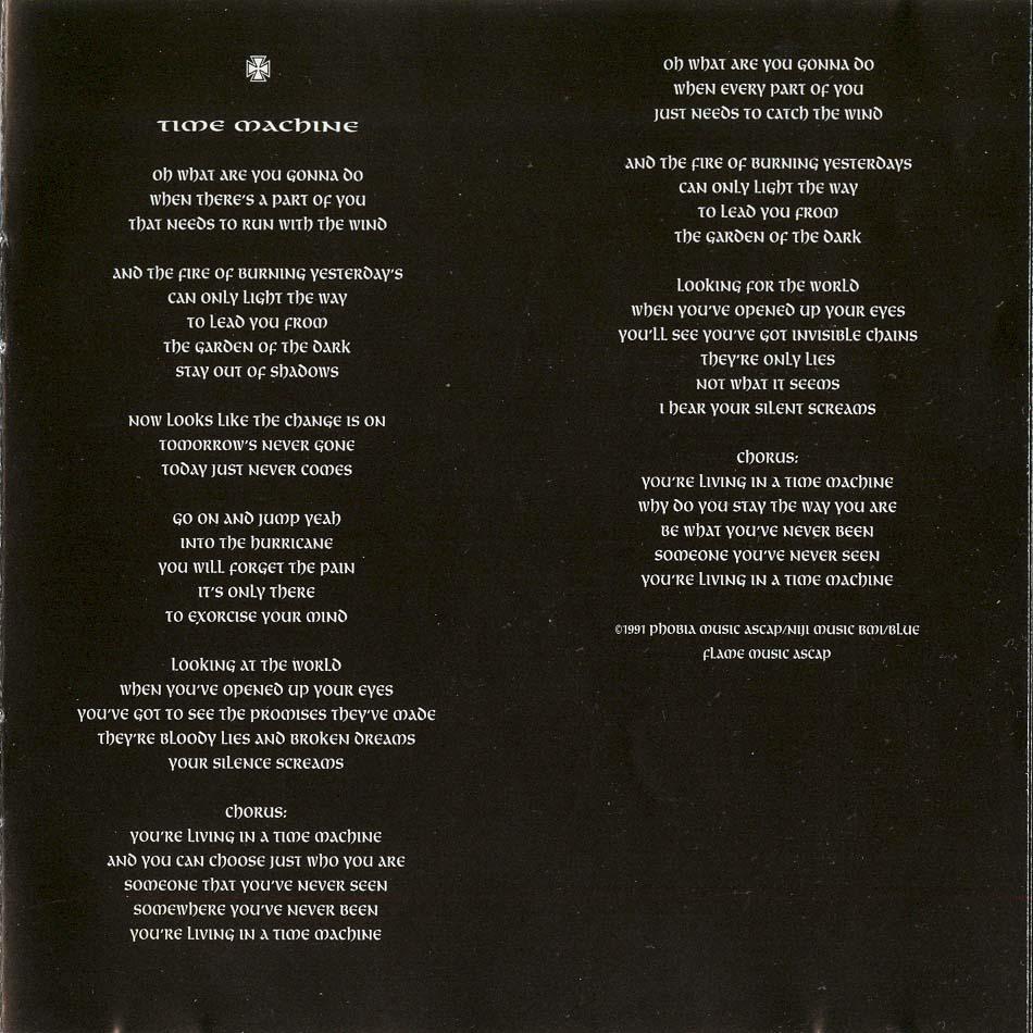 lyrics de black sabbath: