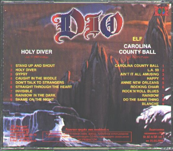 Tapio S Ronnie James Dio Pages Dio Counterfeit Cd Discography