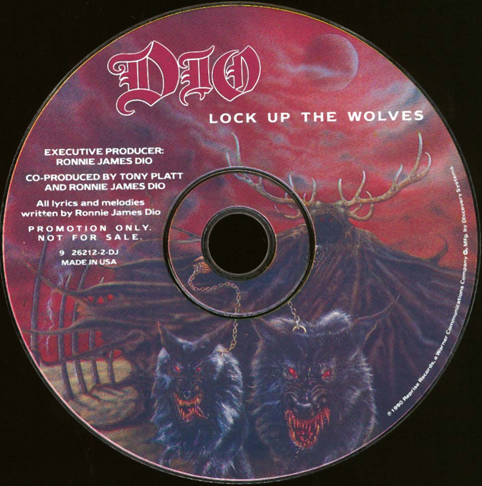 Lock Up Dj Youngsters: Tapio's Ronnie James Dio Pages: Dio CD Discography