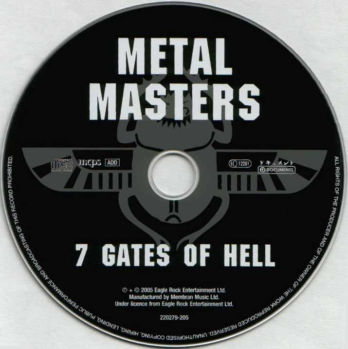 gates to hell. gates to hell. metal masters 7