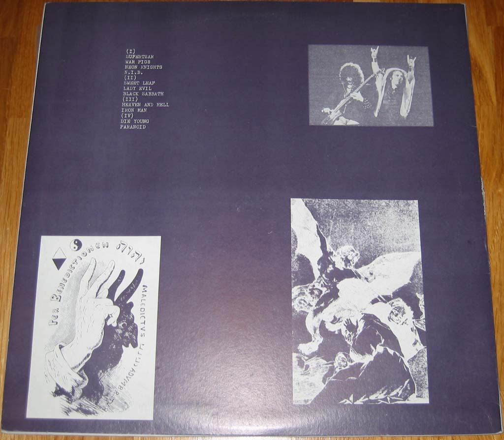 Tapio's Ronnie James Dio Pages: Black Sabbath bootleg LP