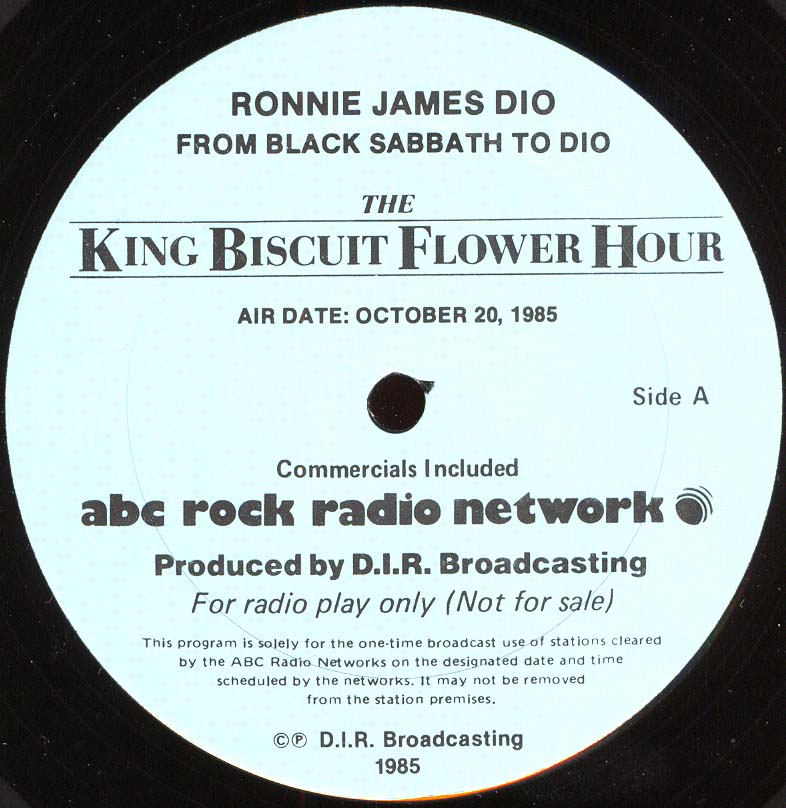rainbow king biscuit flower hour